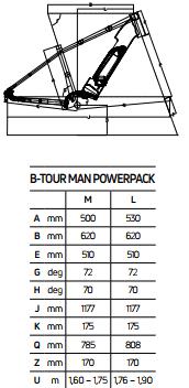 Atala B-Tour A5.1 Man geometrie