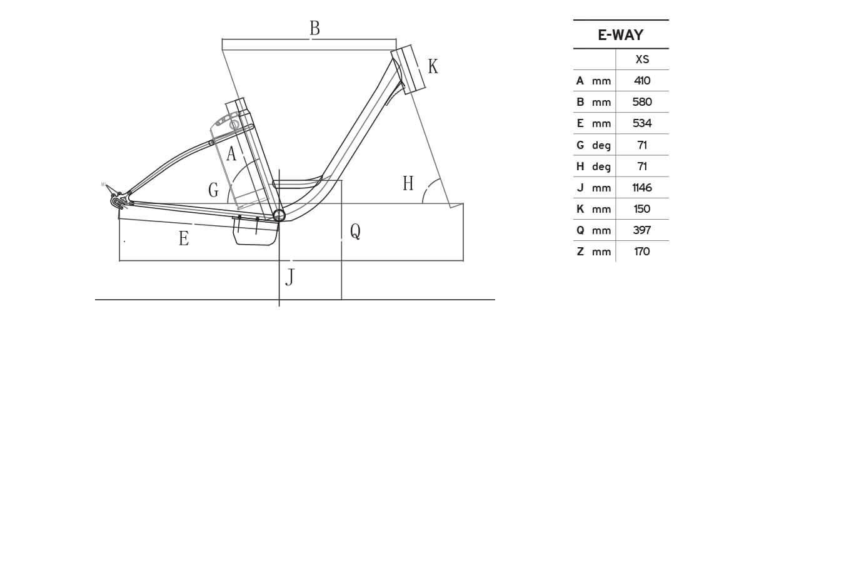 Atala E-Way 24volt geometrie
