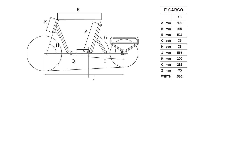 Atala E-Cargo geometrie